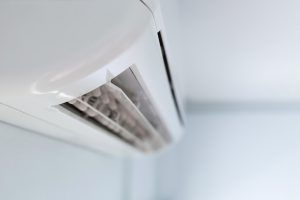 Cool,Air,Conditioner,System,On,White,Wall,Room